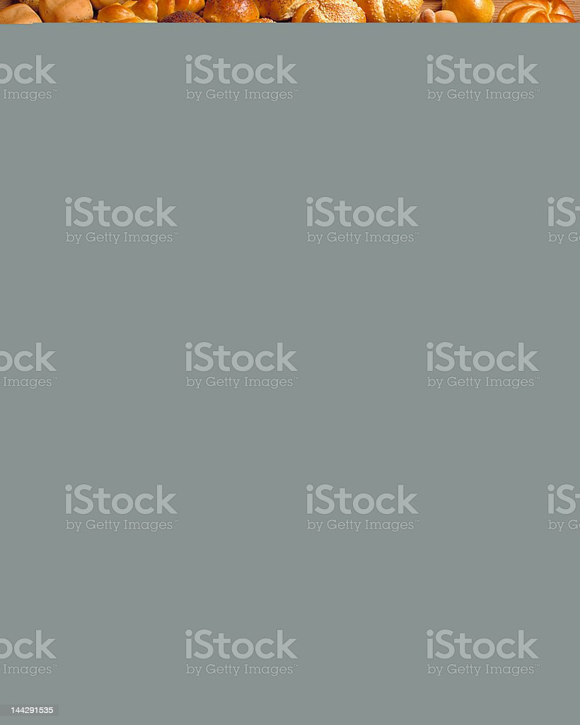 Rows of Bread royalty-free stock photo