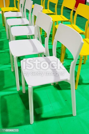 Stadium, Chair, Metal, Furniture, Home Decor, Leather