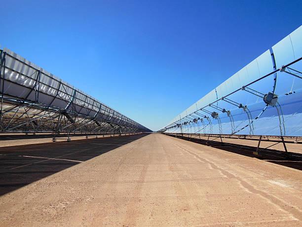 Rangées de Solar Collectionneurs - Photo