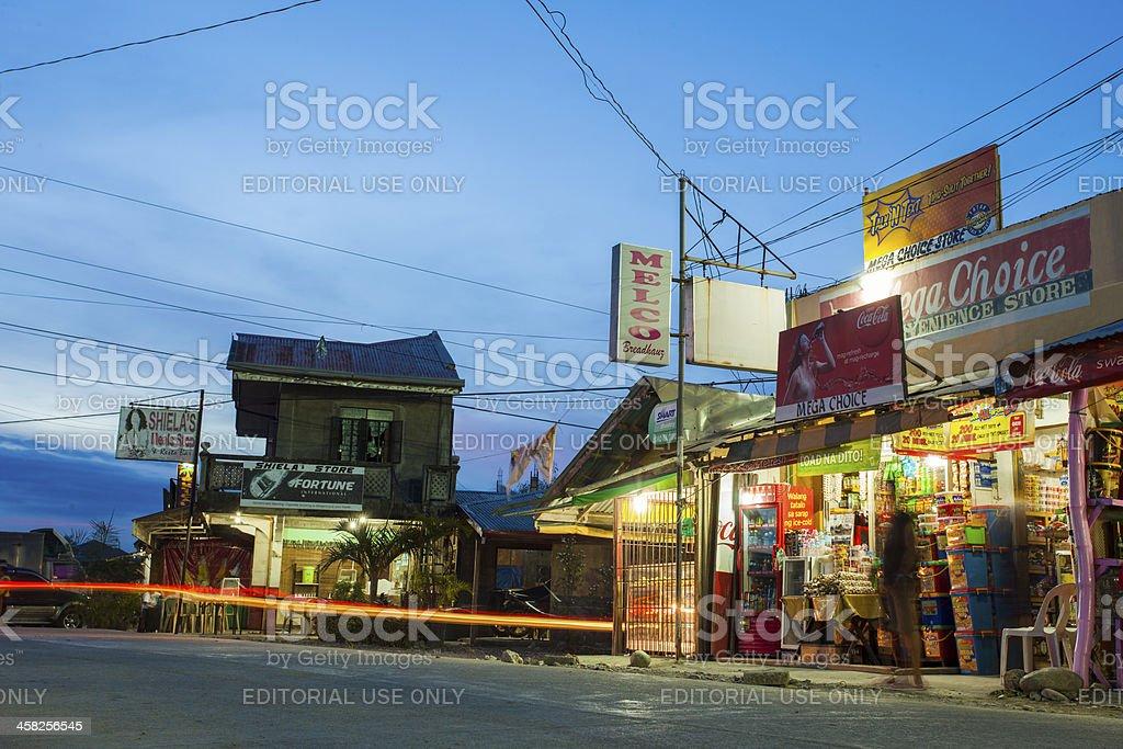 Roxas Oriental port on the Philippines island of Mindoro royalty-free stock photo