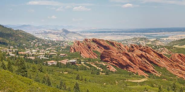 Roxborough State Park near Denver stock photo