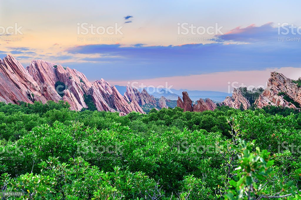 Roxborough State Park stock photo