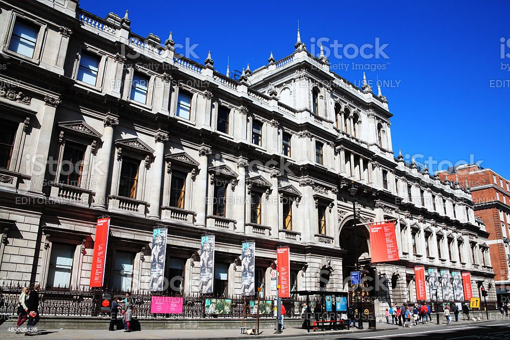 Royal Academy of Arts stock photo