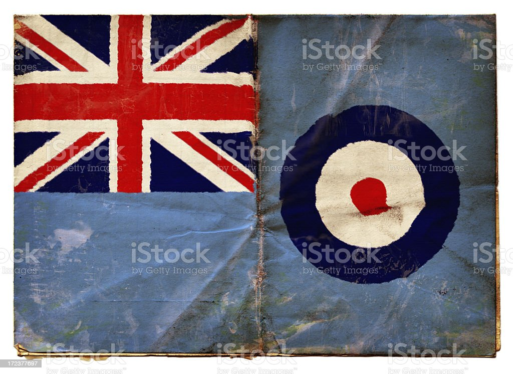 Royal Air Force Ensign (XXL) stock photo