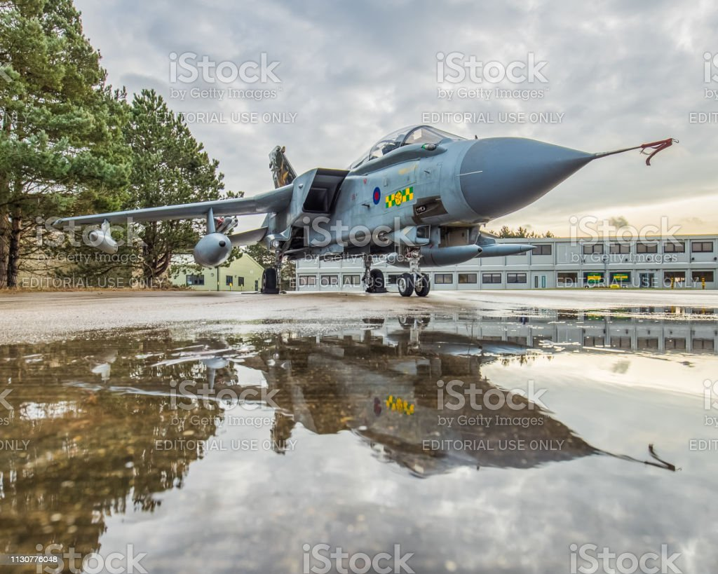 Royal Air Force Tornado Gr4 Coming Up To Retirement In March
