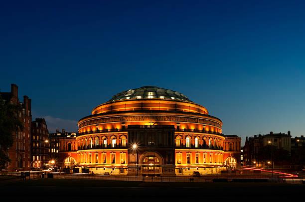 Royal Albert Hall, London. stock photo