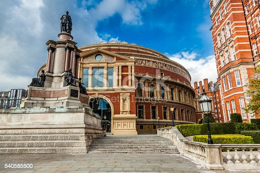 Royal Albert Hall Opera Musical Theater London England Uk Stock Photo & More Pictures of Amphitheater