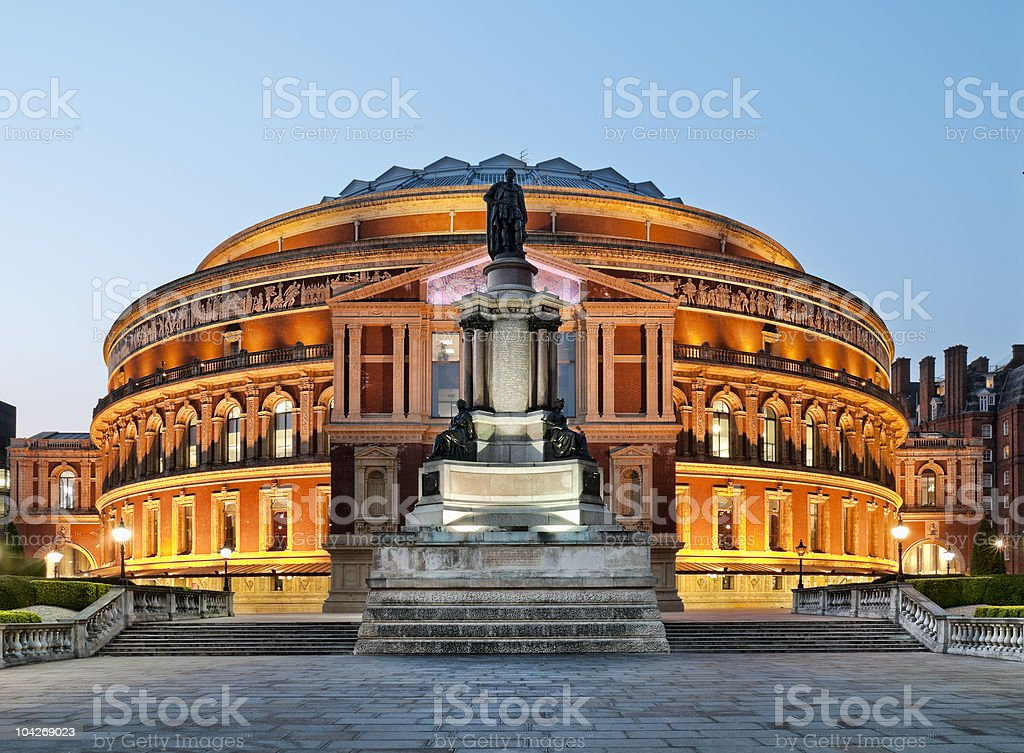 Royal Albert Hall royalty-free stock photo