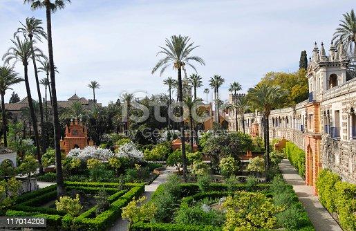 istock Royal Alcazar gardens 117014203