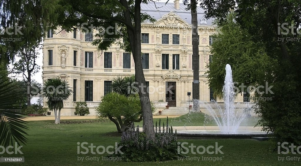 Royal Andalusian School of Equestrian Art stock photo