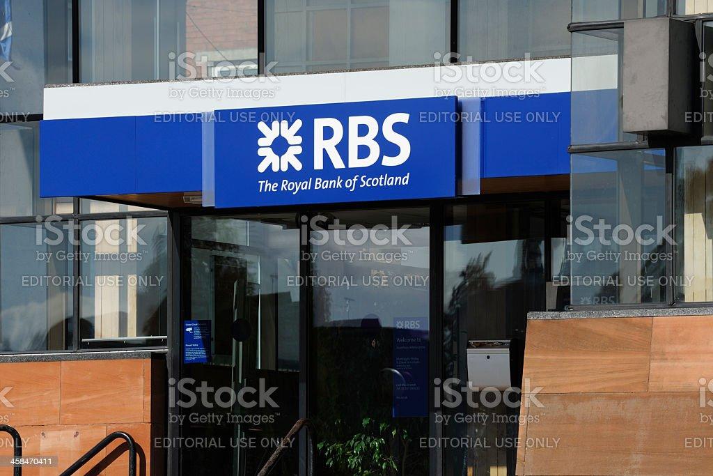 Royal Bank of Scotland stock photo