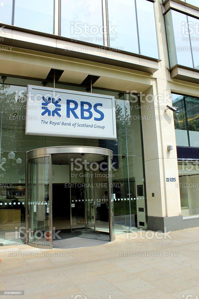 Royal Bank Of Scotland - RBS stock photo