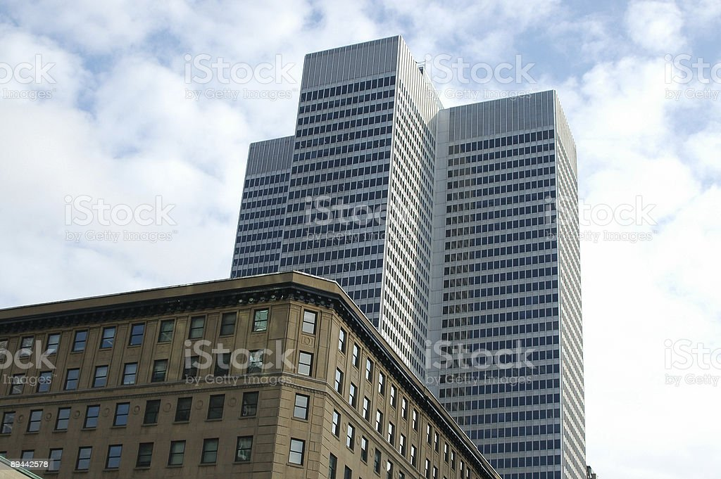 Royal Bank Office Building stock photo