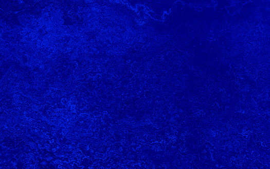 Royal Blue Grunge Background Dirty Concrete Wall Night