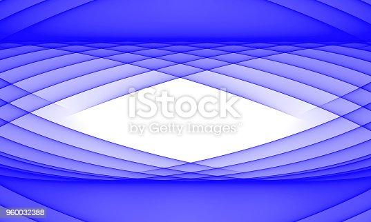 1161683825 istock photo Royal Blue wave on White background 960032388
