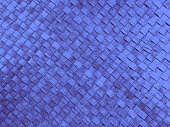 Royal blue woven textured background