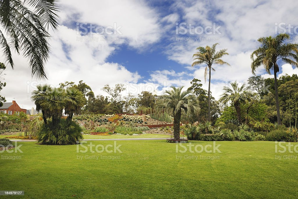 Royal Botanic Gardens, Melbourne, Australia (XXXL) stock photo