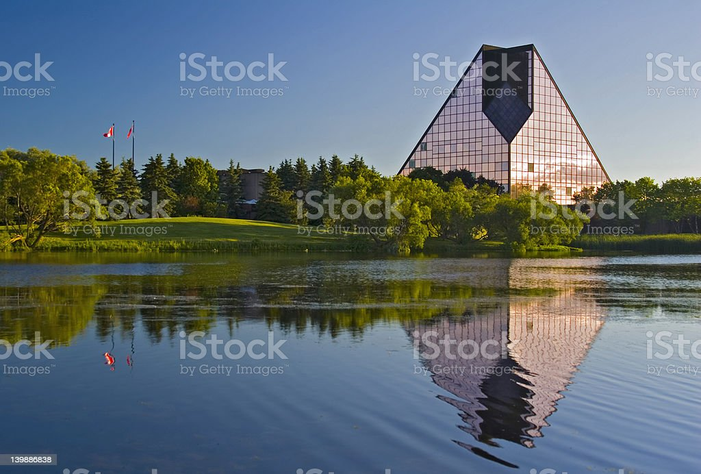 Royal Canadian Mint royalty-free stock photo
