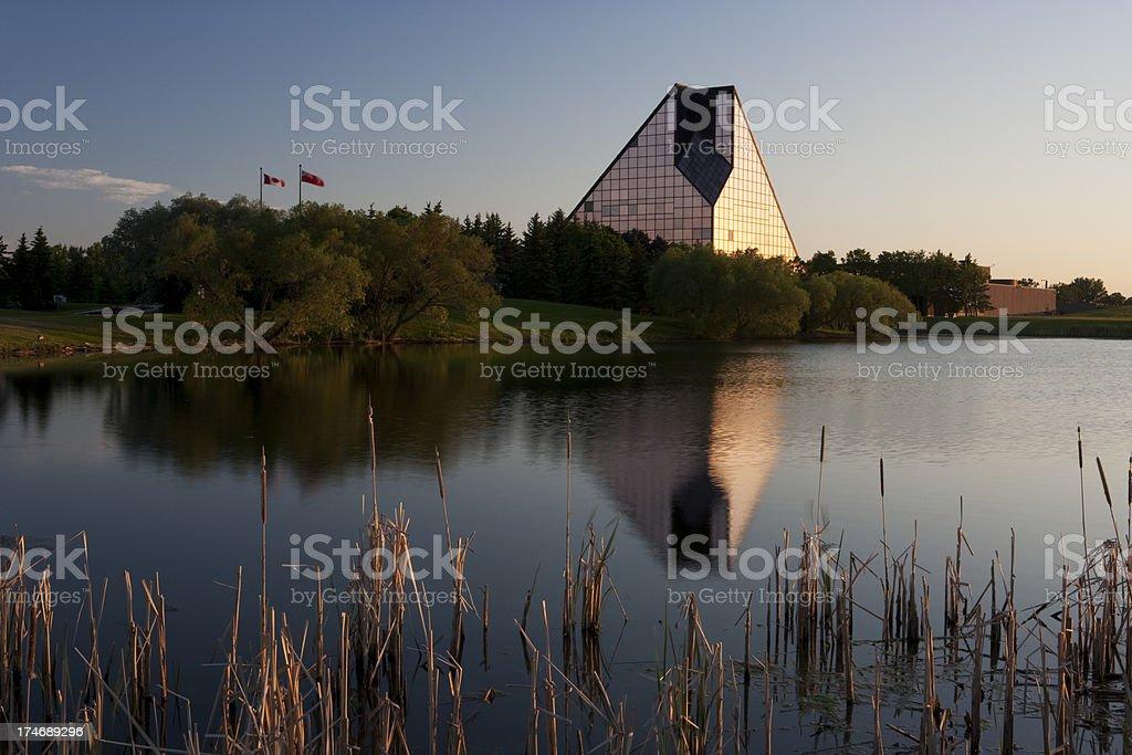 Royal Canadian Mint Winnipeg stock photo
