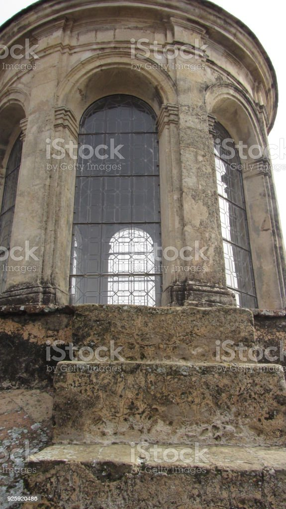 Royal chapel of the Cathedral of Seville stock photo
