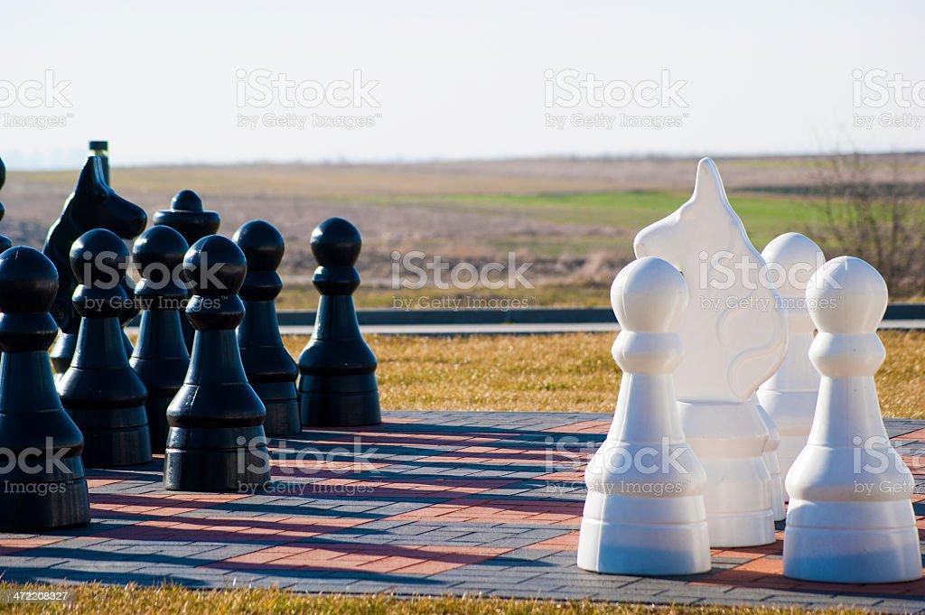 Royal Chess stock photo