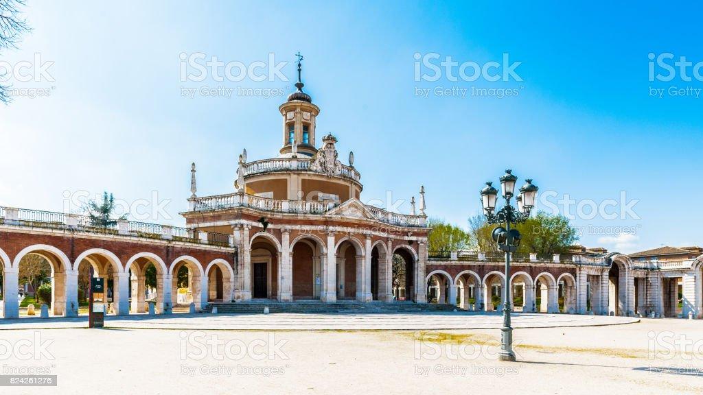 Real iglesia de San Antonio, Aranjuez, España - foto de stock