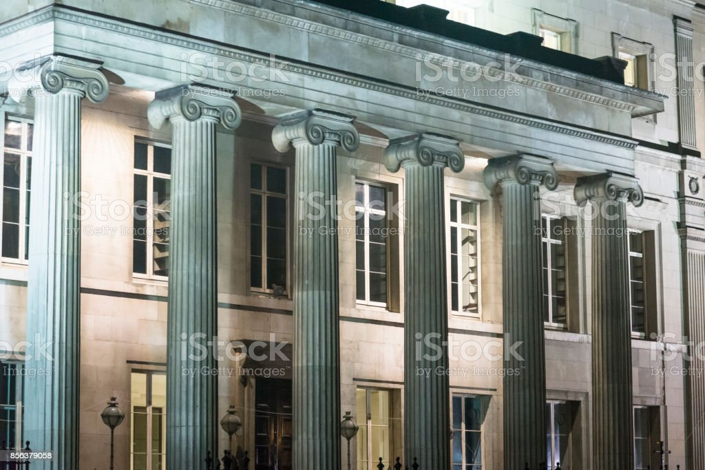Royal College of Surgeons of England, Lincoln's Inn Fields, London, UK stock photo
