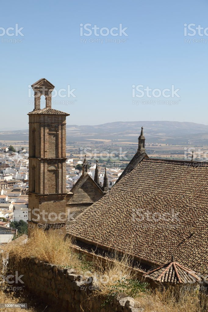 Real Colegiata Church, Antequera stock photo