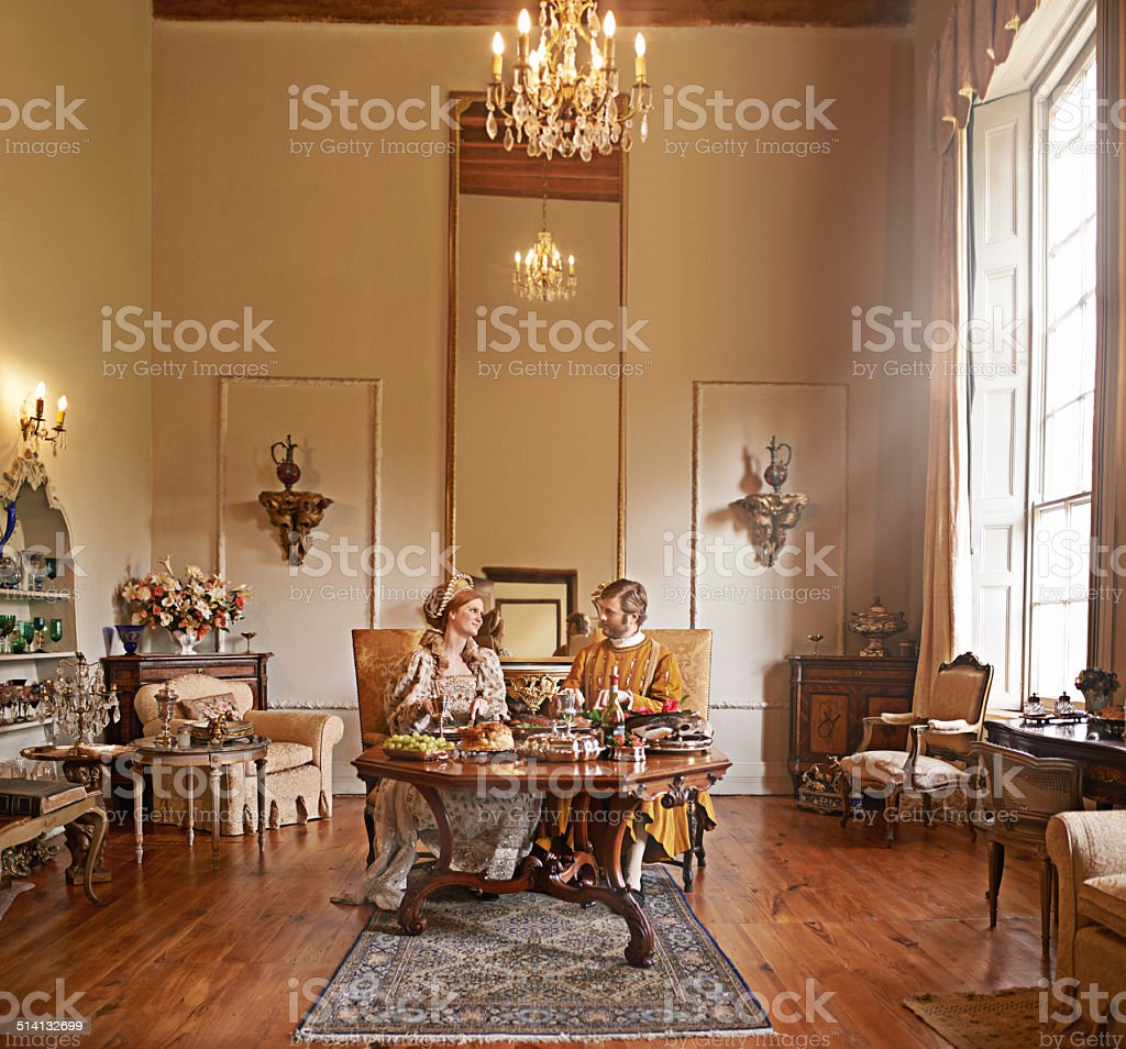Royal comforts stock photo