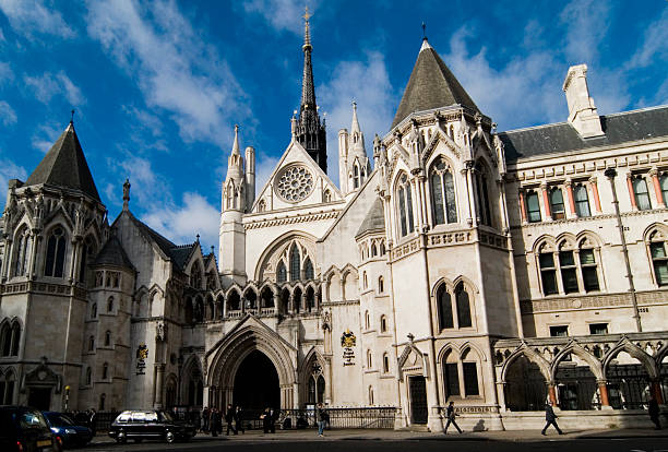 Royal Court of Justice, London stock photo