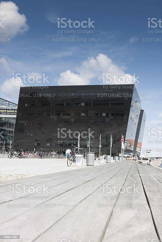 Royal Danish Library stock photo