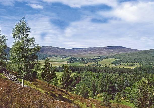 Royal Deeside Near Aberdeen Scotland stock photo