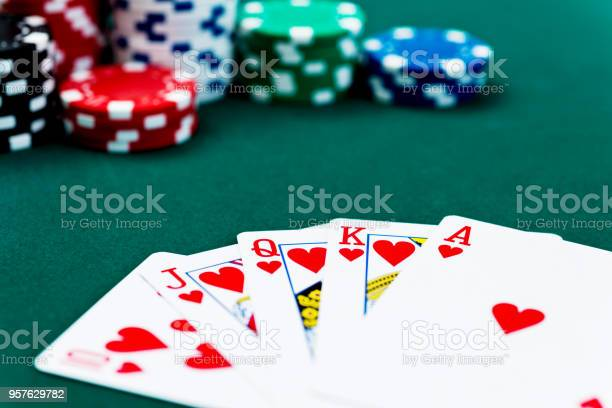Royal flush and poker chips picture id957629782?b=1&k=6&m=957629782&s=612x612&h=hke8wx trzdvccqagifd 8ykxuqya2jtvanz51p2fuy=
