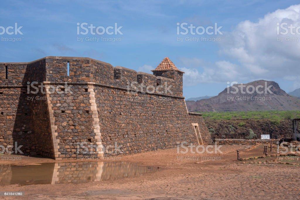 Real fortaleza de San Felipe, Cabo Verde - foto de stock