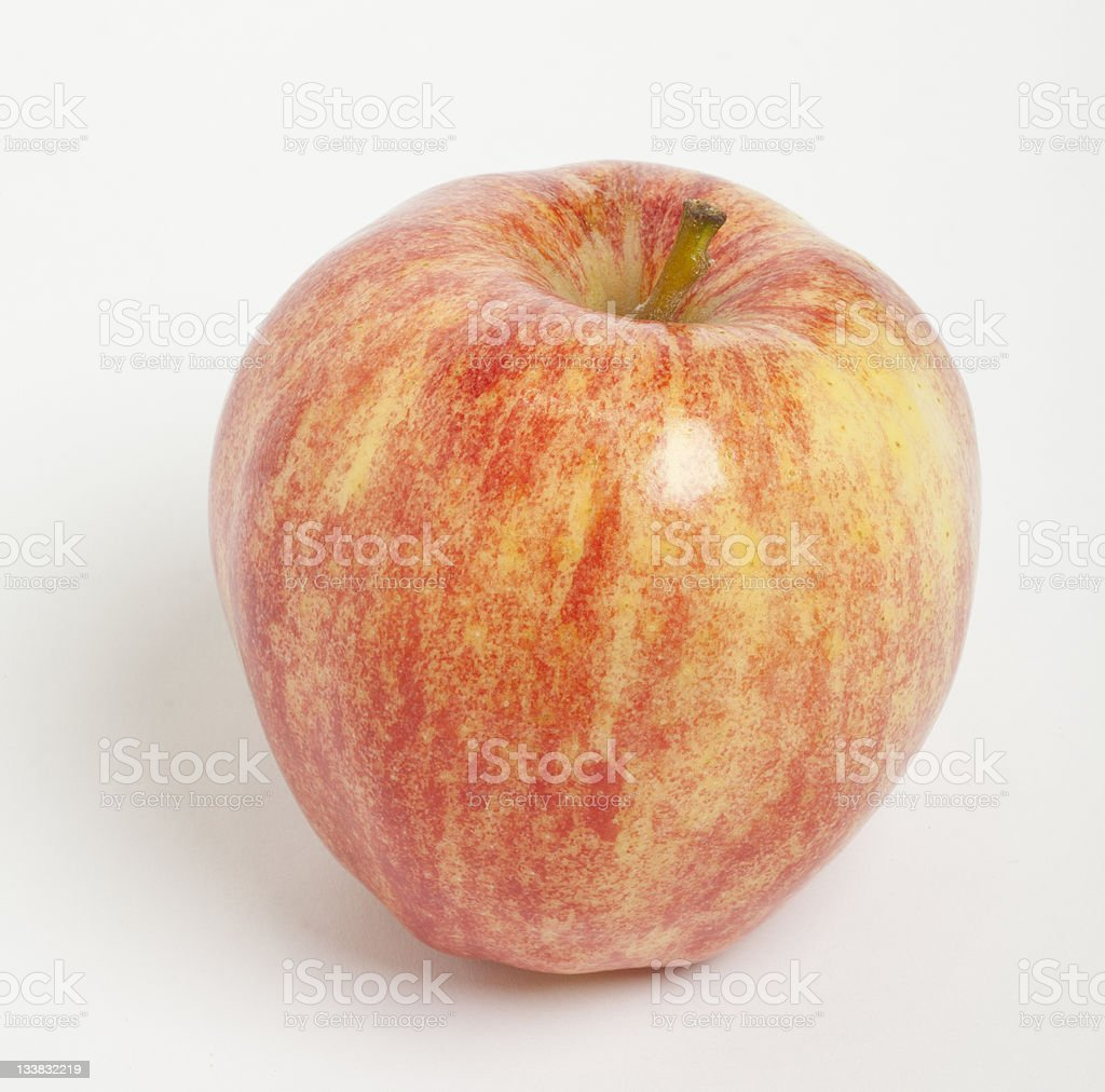 Royal Gala Apple royalty-free stock photo
