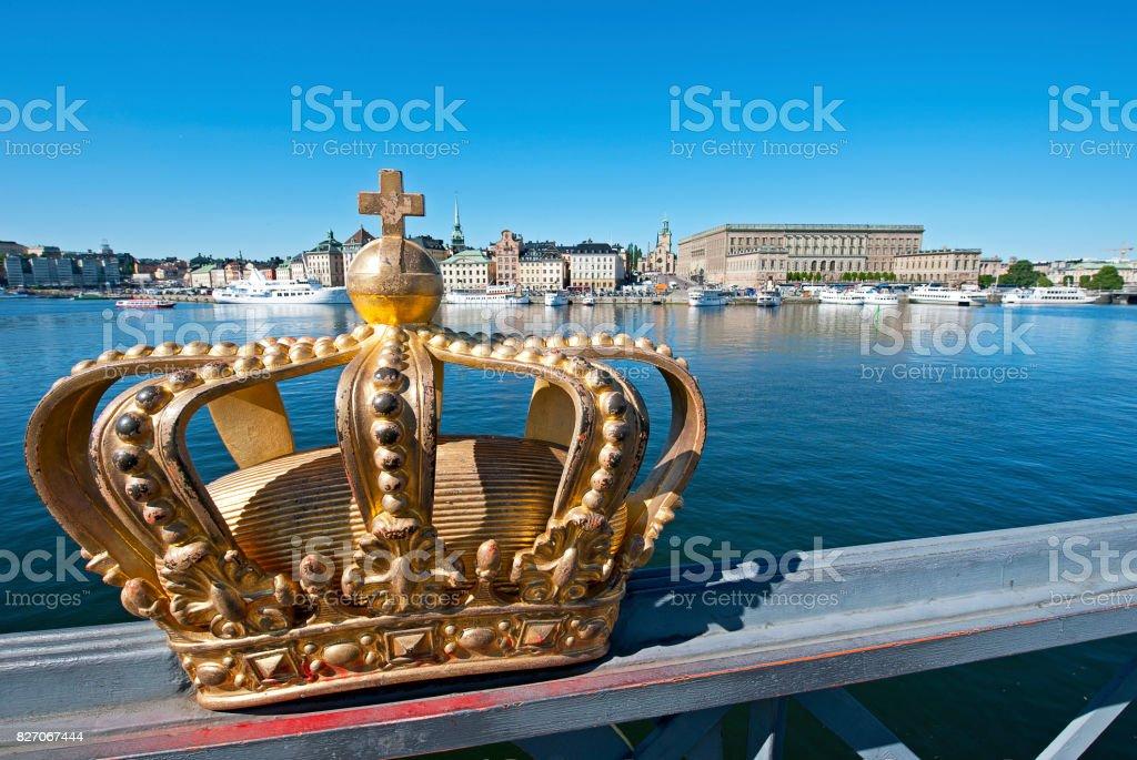 Royal Gamla Stan, Stockholm, Sweden stock photo