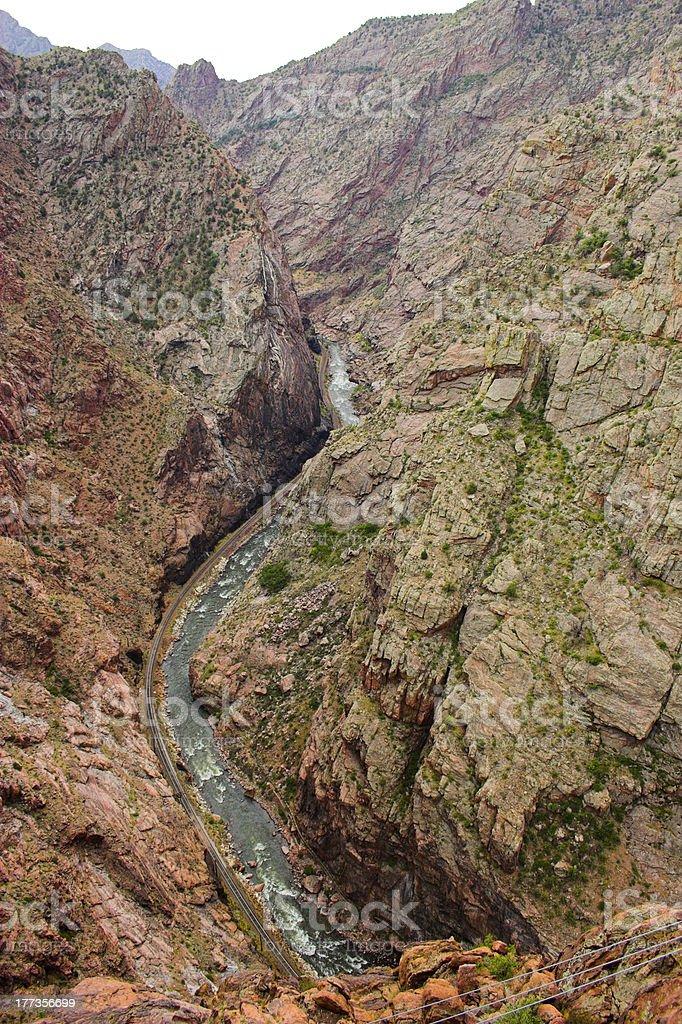 Royal Gorge stock photo