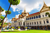 Royal grand palace in Bangkok,Thailand