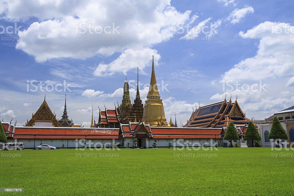 Royal Grand Palace,Thailand royalty-free stock photo