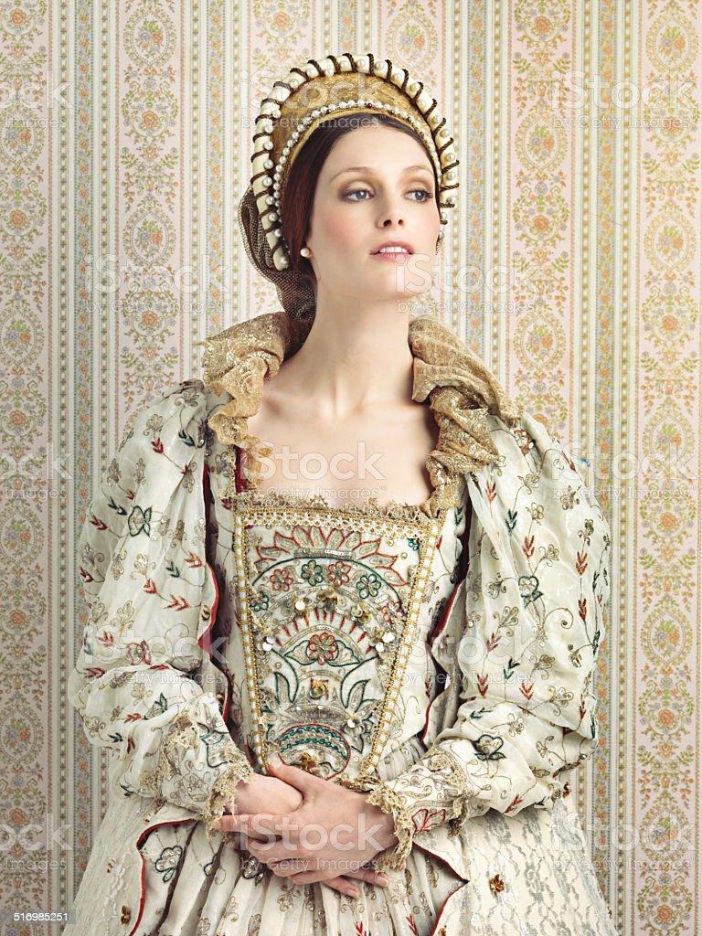 Royal haughtiness stock photo