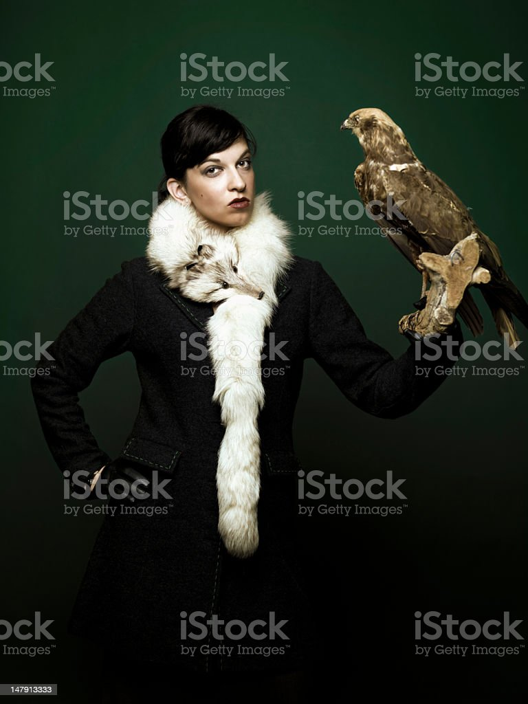 royal hunting stock photo