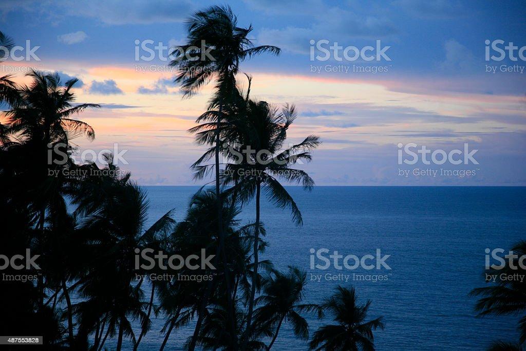Royal Island, 'îŽles du Salut', French Guiana. stock photo