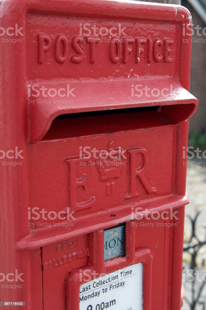 Royal Mail Letter Box.Royal Mail Red Postbox Stock Photo Download Image Now