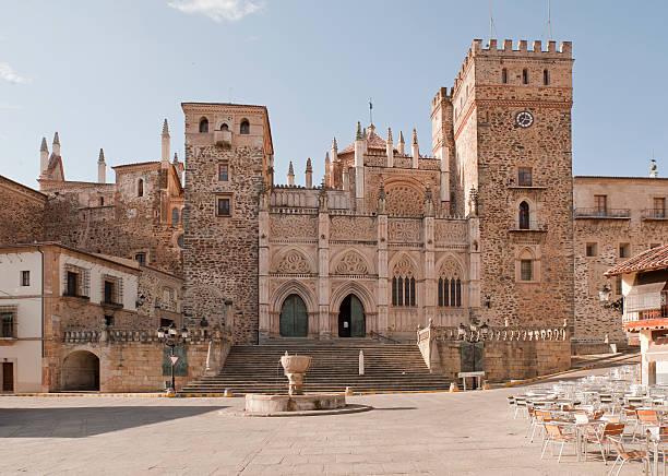 Royal Monastery of Santa Maria stock photo