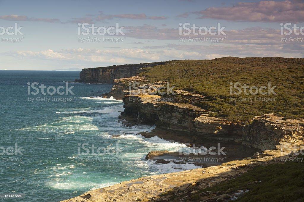 Royal National Park royalty-free stock photo