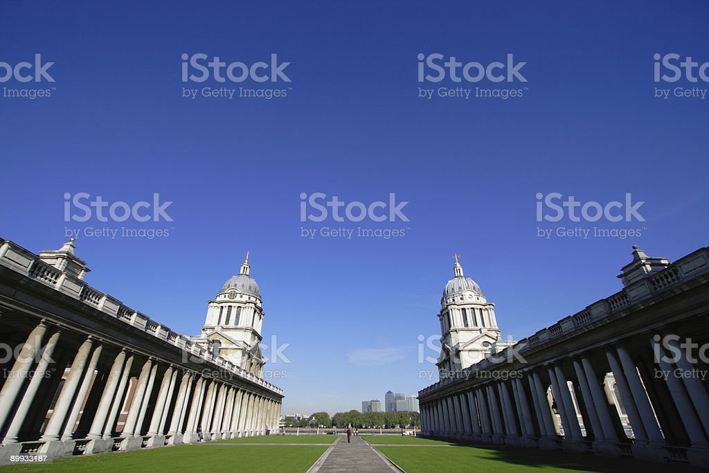 Royal Naval College stock photo