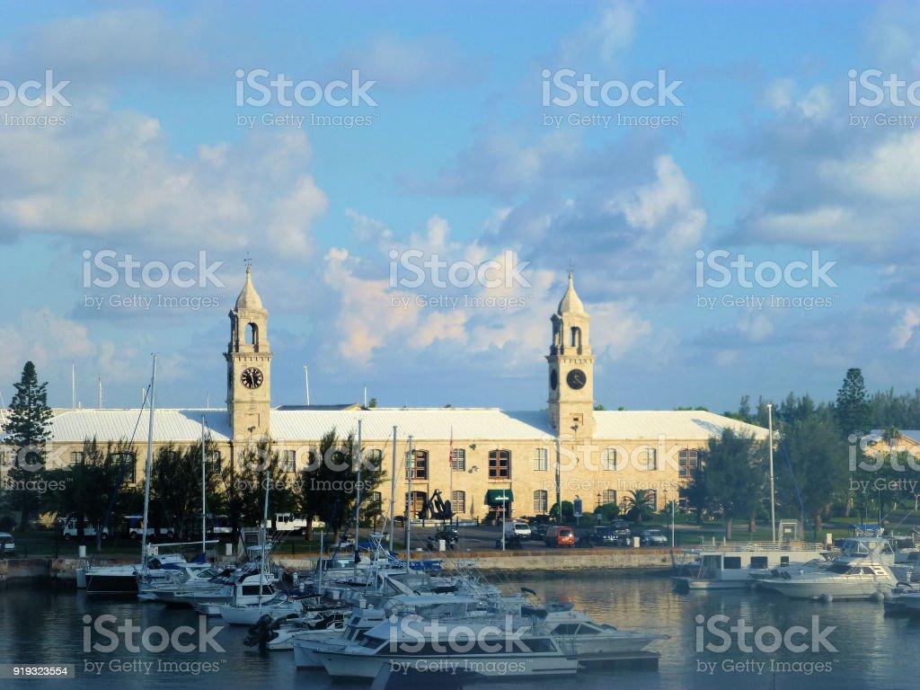 Royal Naval Dockyard, Bermuda stock photo