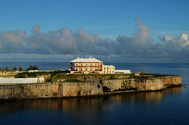 Royal Navy Dockyard, Bermuda stock photo