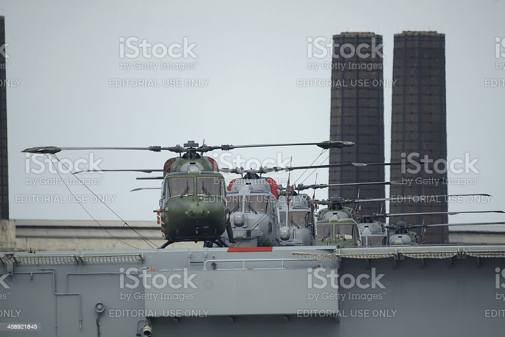 Royal Navy ready for Olympic Games stock photo