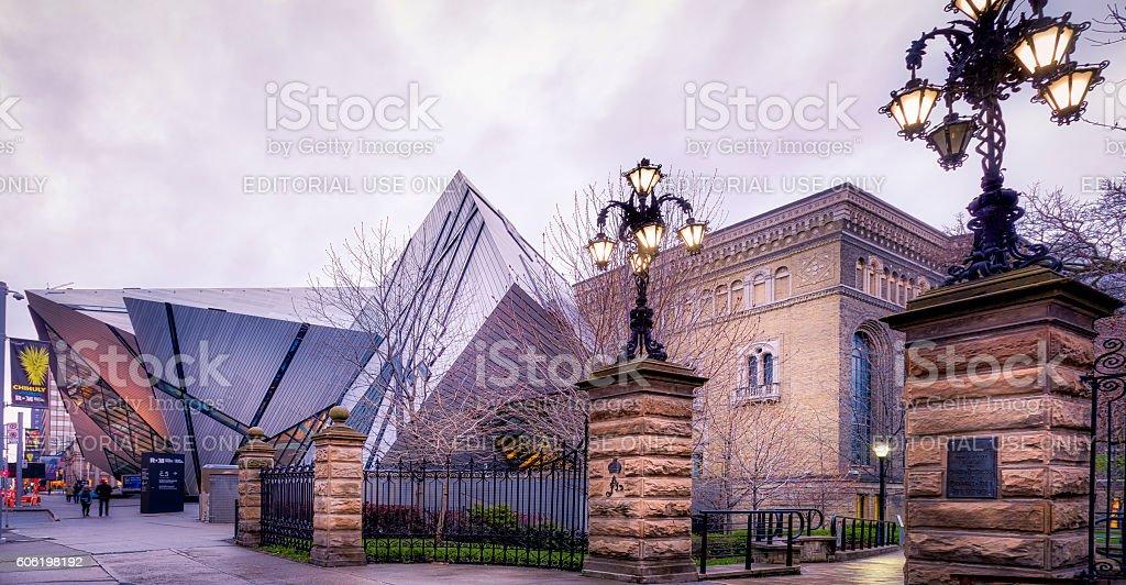 Royal Ontario Museum stock photo